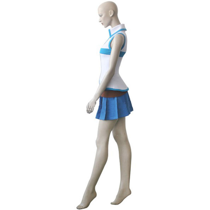 Fairy Tail Lucy Heartfilia Cosplay Kostume Fastelavn