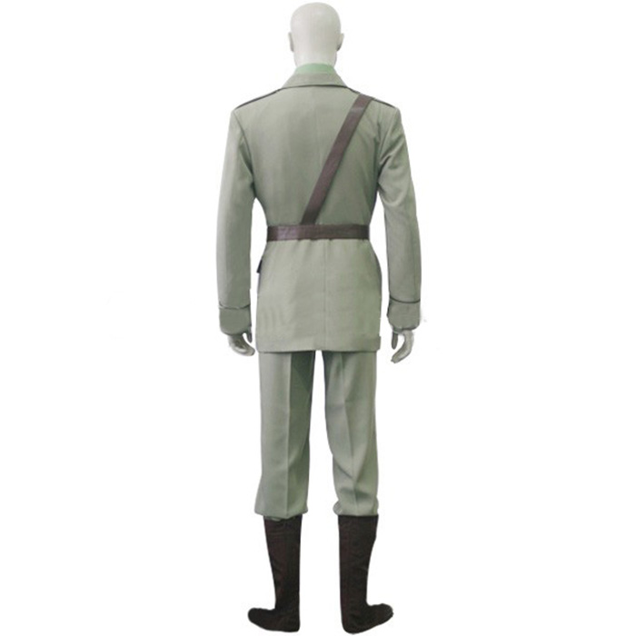 Hetalia Axis Powers United Kingdom Cosplay Kostume Fastelavn