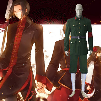 Hetalia Axis Powers Chinese Allies Cosplay Outfits