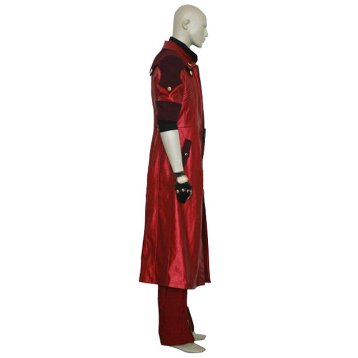 Devil May Cry 4 Dante IV Cosplay asut Naamiaisasut