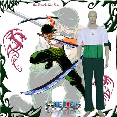 One Piece Roronoa Zoro Cosplay Costumes London