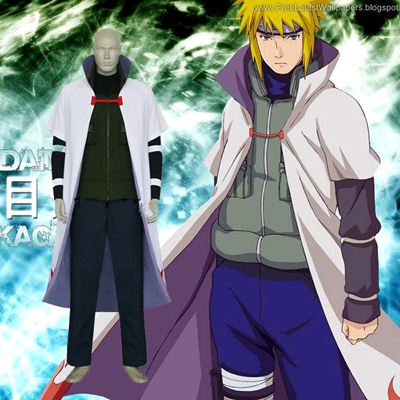 Luxury Naruto Yondaime 4th Hokage Cosplay Costumes Wellington