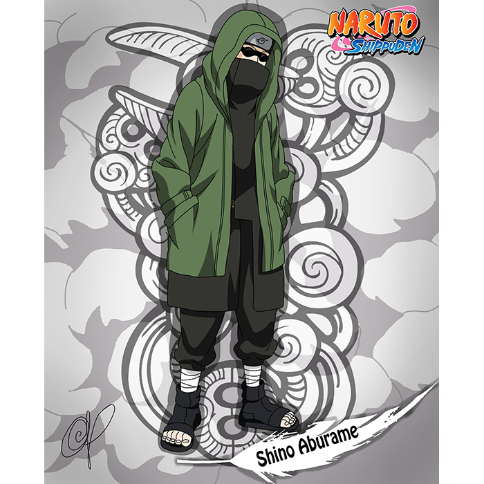 Top Naruto Shippuden Shino Aburame Cosplay Costumes Sydney