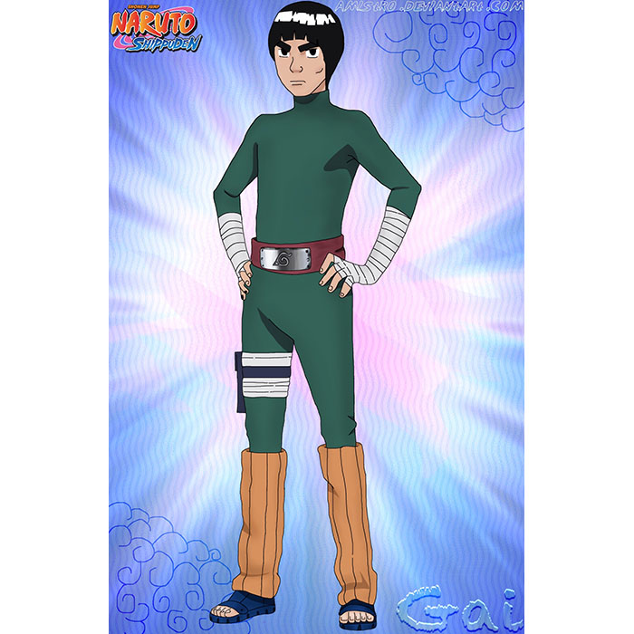 Luxury Naruto Maito Gai Cosplay Costumes Wellington