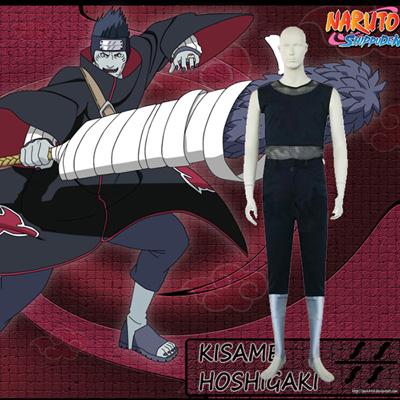 Naruto Akatsuki Hoshigaki Kisame Cosplay Costume Carnaval