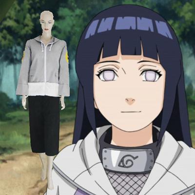 Naruto Hinata Hyuga Cosplay asut Naamiaisasut