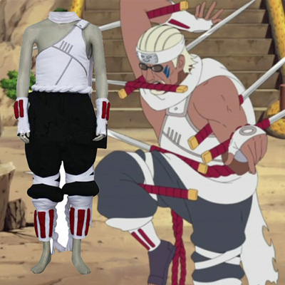 Naruto Killer Bee Cosplay Costume Vêtements Carnaval