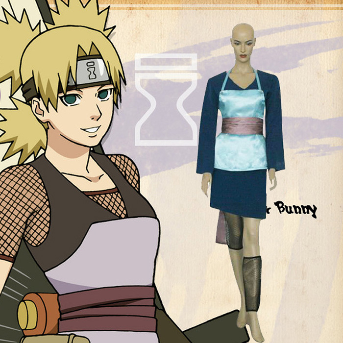 Naruto Temari Fan Art Cosplay asut Naamiaisasut