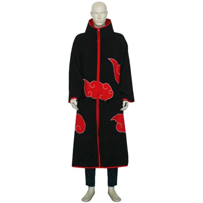 Luxury Naruto Akatsuki Itachi Uchiha Men\'s Cosplay Costumes Wellington