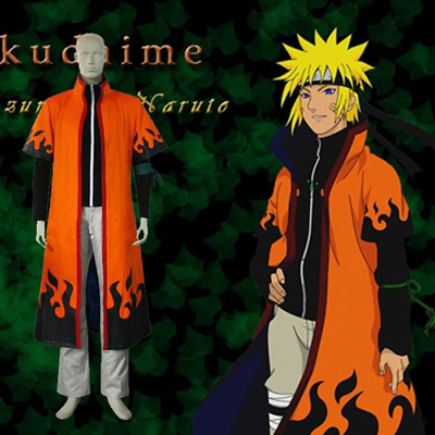 Top Naruto Uzumaki 6th Hokage Cosplay Costumes Sydney