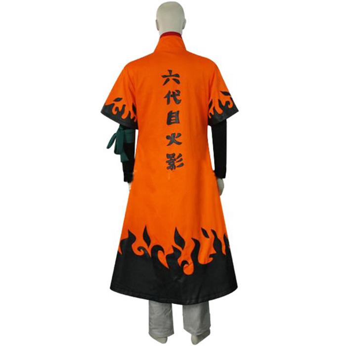 Naruto Uzumaki 6th Hokage Cosplay asut Naamiaisasut