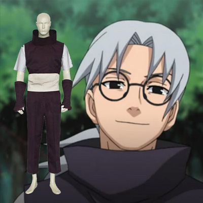 Naruto Yakushi Kabuto Cosplay Outfits Clothing