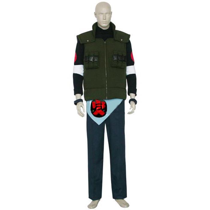 Luxury Naruto Asuma Sarutobi Cosplay Costumes Wellington