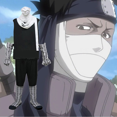 Naruto Zabuza Cosplay Outfits Clothing