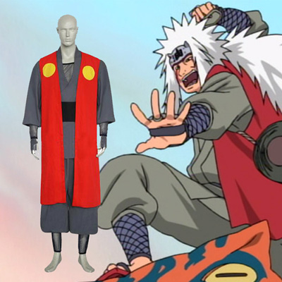 Naruto Jiraiya Cosplay Outfits Clothing