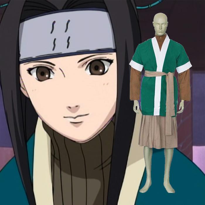 Naruto Haku-Ha Cosplay Jelmez Ruházat Karnevál
