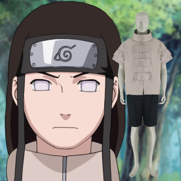 Luxury Naruto Hyuuga Neji Cosplay Costumes Wellington
