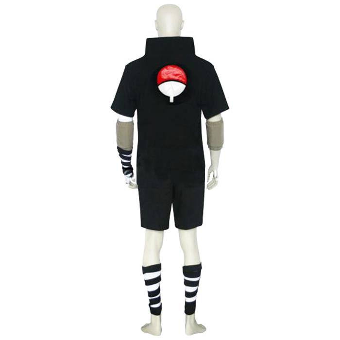 Déguisements Naruto Sasuke Uchiha Black Costume Carnaval Cosplay