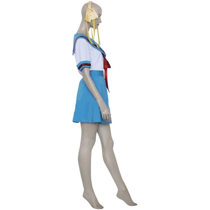 Haruhi Suzumiya Asahina Mikuru Tytöt Alliance Cosplay asut Naamiaisasut