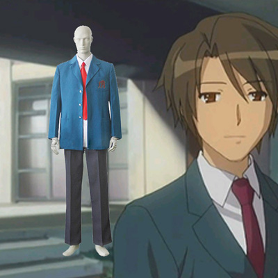 Haruhi Suzumiya Koizumi Itsuki Boy Alliance Cosplay asut Naamiaisasut