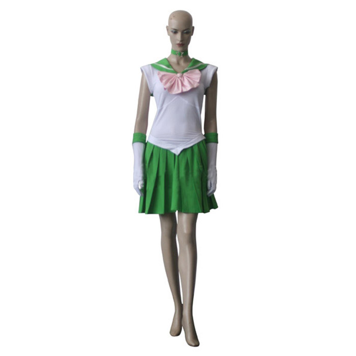 Sailor Moon Sailor Jupiter Lita Kino Cosplay asut Naamiaisasut