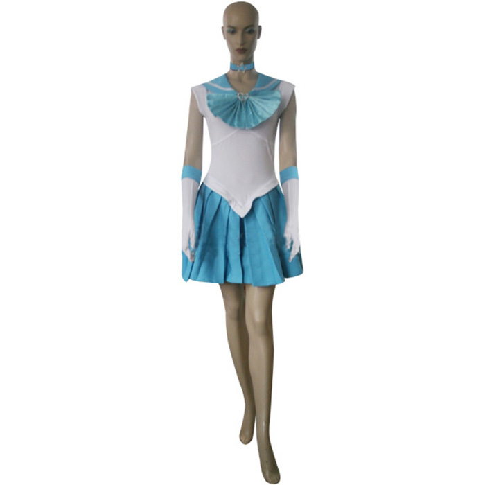 Déguisements Sailor Moon Sailor Mercury Amy Anderson Costume Carnaval Cosplay