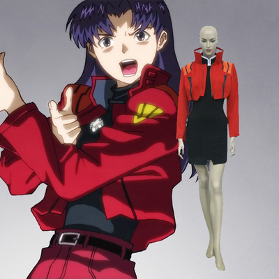 Neon Genesis Evangelion Misato Katsuragi Cosplay Outfits