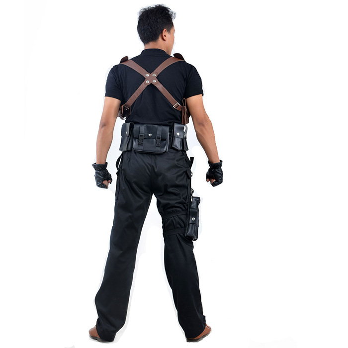 Resident Evil Lyon Scott Kennedy Cosplay Outfits