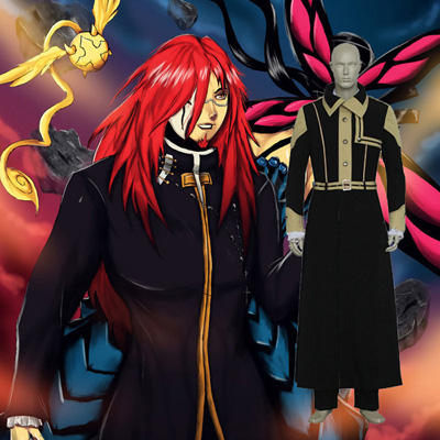 D.Gray-man Cross Marian Cosplay Ropa Disfraz Carnaval