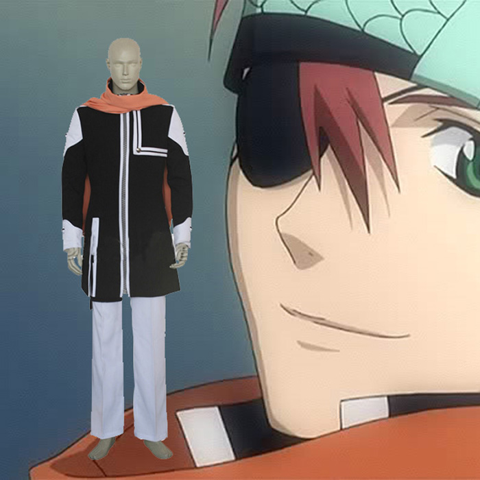 D.Gray-man Lavi Bookman Jr Cosplay Outfits