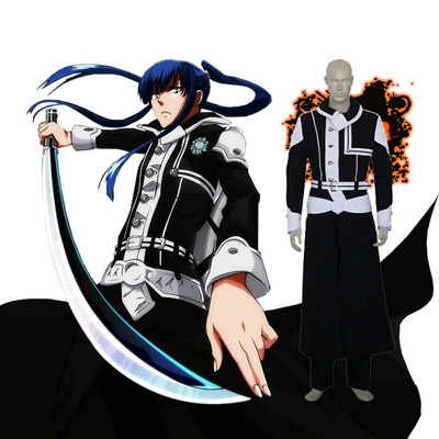 Luxury D.Gray-man Yu Kanda Cosplay Costumes Wellington