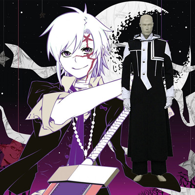 D.Gray-man Allen Walker Cosplay Costume Vêtements Carnaval