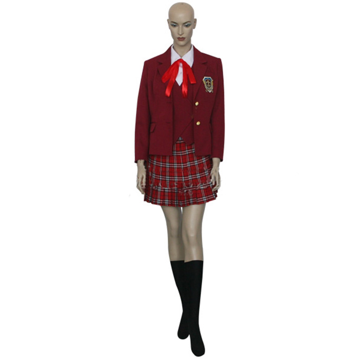 Luxury Negima! Magister Negi Magi Asuna Kagurazaka Cosplay Costumes Wellington