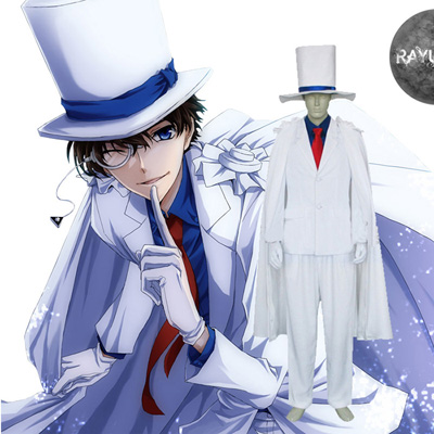 Case Closed Kaito Kids Cosplay Costumes London