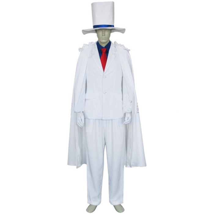 Case Closed Kaito Kids Cosplay Jelmez Karnevál