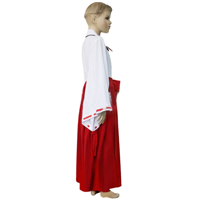 Luxury Inuyasha Kikyou Kids Cosplay Costumes Wellington