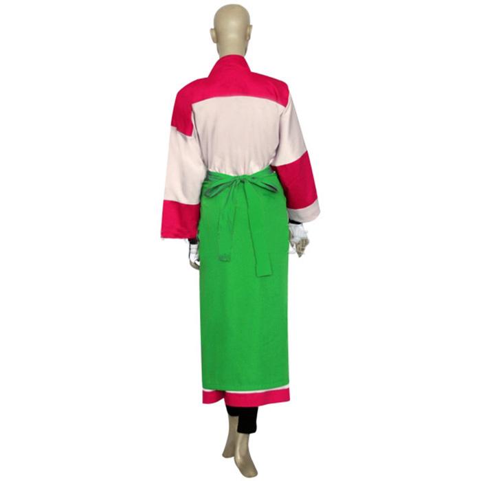 Inuyasha Kikyou Coral Kimono Cosplay Jelmez Karnevál