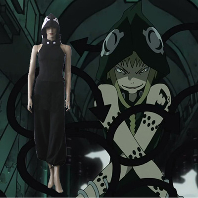 Soul Eater Medusa Black Cosplay Outfits