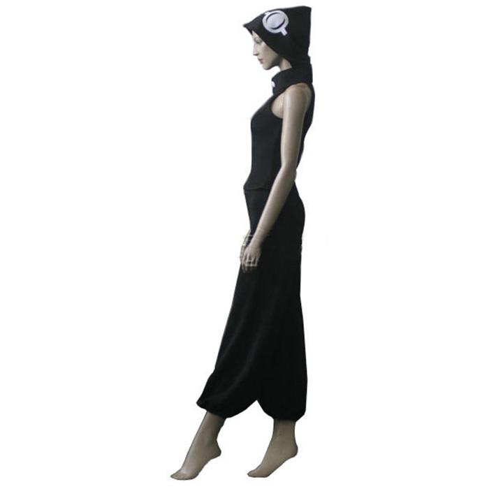 Déguisements Soul Eater Medusa Black Costume Carnaval Cosplay