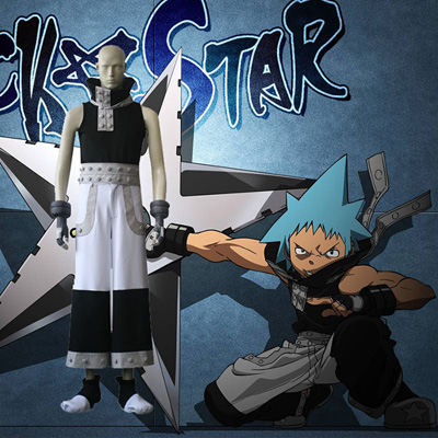 Soul Eater Black Star Cosplay Kostuums
