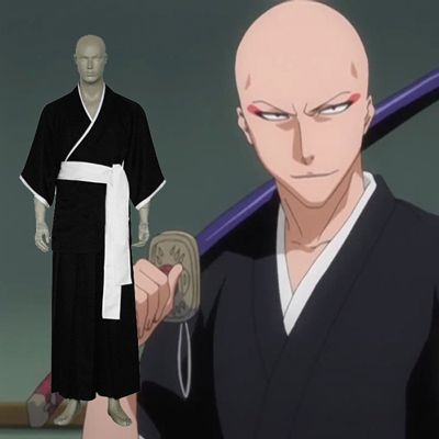 Bleach Ikkaku Madarame Cosplay Costumi Carnevale