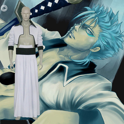 Bleach of the Sixty Grimmjow Jeagerjaques Cosplay Kostym Karneval
