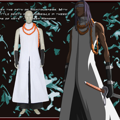 Luxury Bleach Kaname Tousen Arrancar Cosplay Costumes Wellington