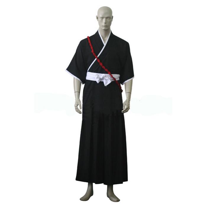 Bleach Ichigo Kurosaki Soul Reaper Egyenruha Cosplay Jelmez Karnevál