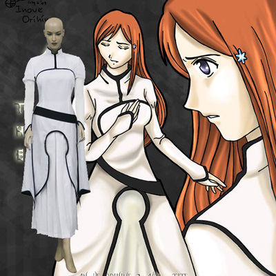 Luxury Bleach Orihime Inoue Arrancar Cosplay Costumes Wellington
