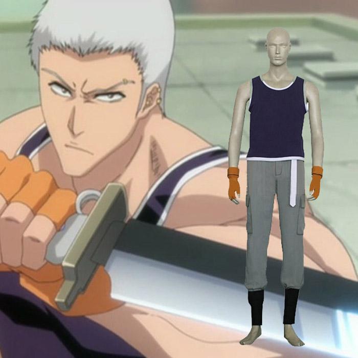 Bleach Kensei Muguruma Cosplay Kostume Fastelavn