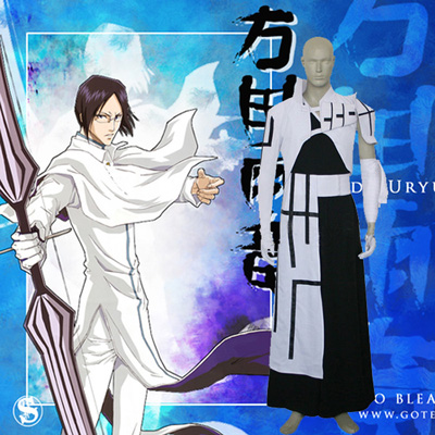 Luxury Bleach Uryuu Ishida Cosplay Costumes Wellington