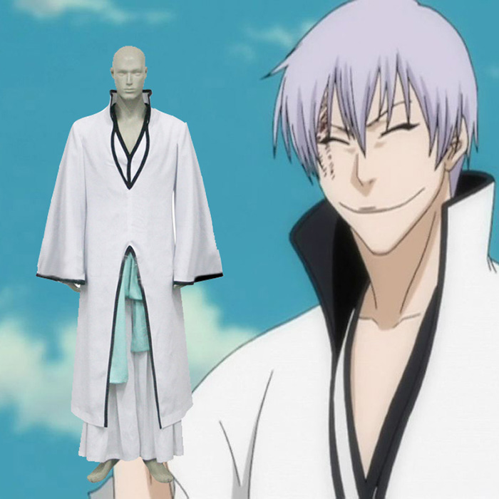 Bleach Ichimaru Gin Arrancar Cosplay asut Naamiaisasut
