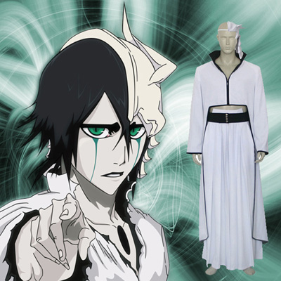 Top Bleach Ulquiorra Schiffer Cosplay Costumes Sydney