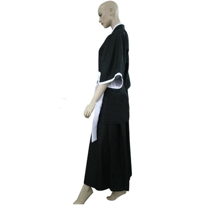 Bleach Kuchiki Rukia Soul Reaper Egyenruha Cosplay Jelmez Karnevál